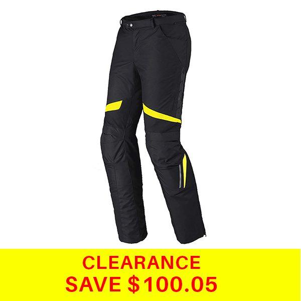 X-Tour-Leather-Pants-Black-Fluro-SalePicture