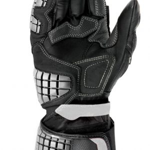 Carbo Track Leather Black/White