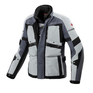 GLOBETRACKER Jacket Grey/Black (Year Round Adventure)