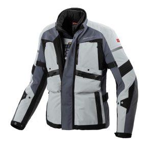 GLOBETRACKER Jacket Grey/Black (Year Round Adventure)