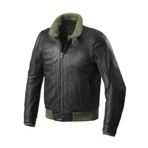 Tank Leather Jacket Black