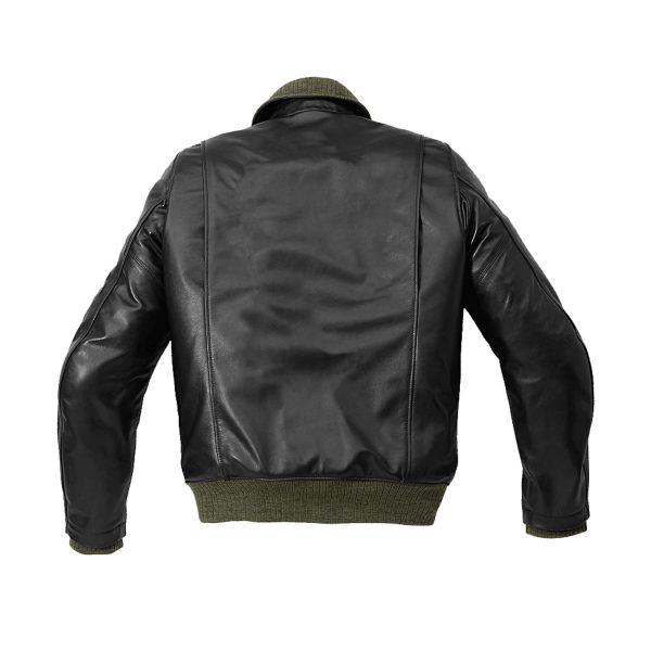Tank Leather Jacket Black