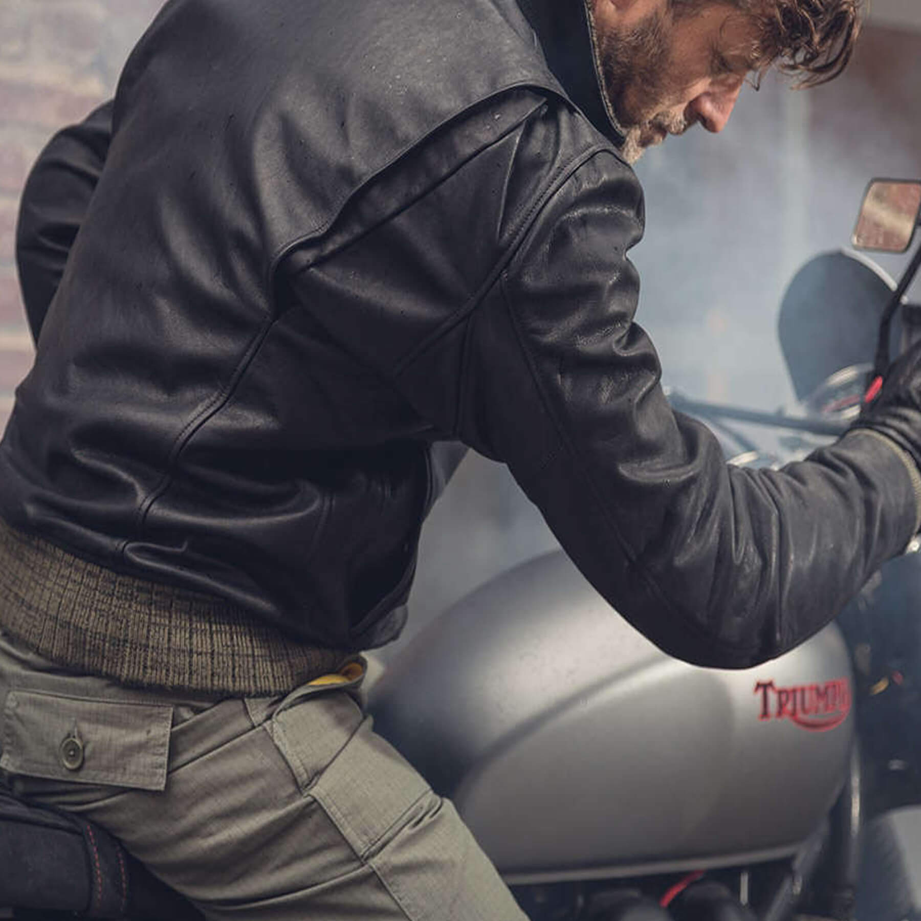 how to purchase clear-cut texture exceptional range of styles Tank Leather Jacket Black | Spidi-Australia