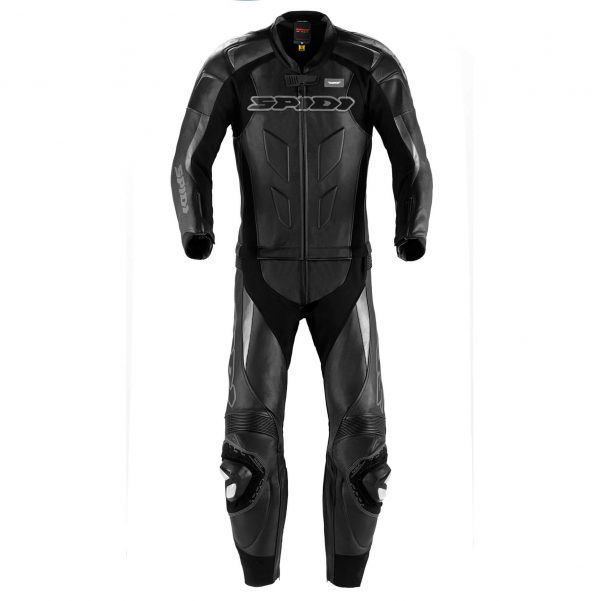 Supersport Touring Leather Suit Black (2pc)