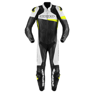 RACE WARRIOR PERFORATED PRO-Black/WHITE/FLURO