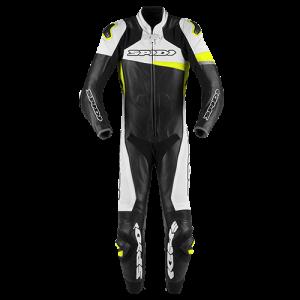 RACE WARRIOR PERFORATED PRO-Black/WHITE/FLURO